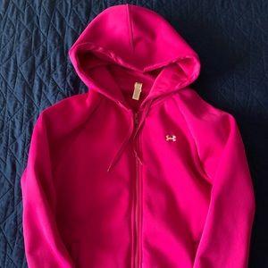 Women's Under armour zip up hoodie